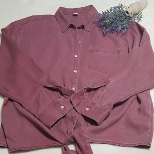 NWT Old Navy Chambray Shirt. XL